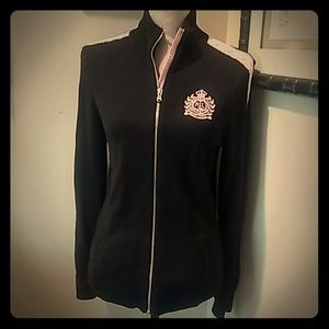 Ralph Lauren  full crestfull zip cotton sweater M